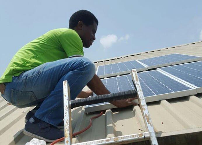 3KW Solar Home System Installed in Nigeria