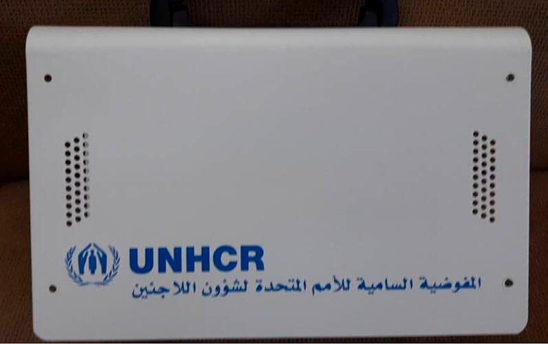 Portable Solar Generator for UNHCR Project