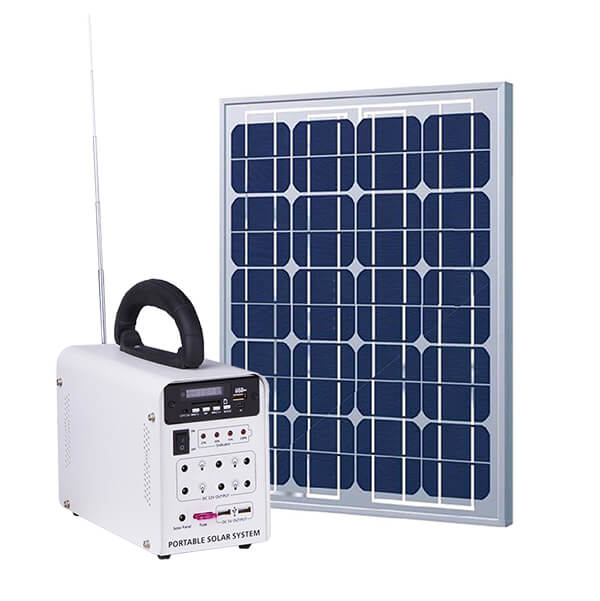 SHS-1217 portable solar home system