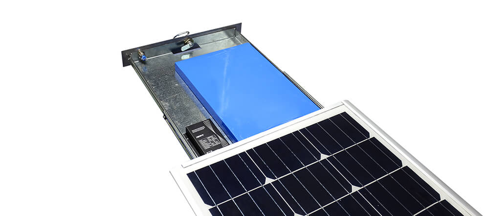 solar-street-light-LiFePO4 battery