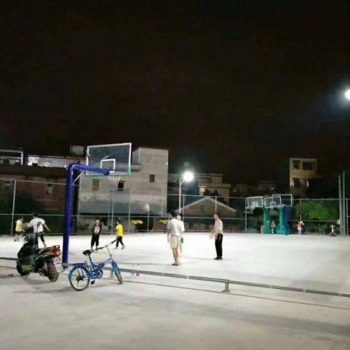 solar street light for outdoor basketball court lighting 5
